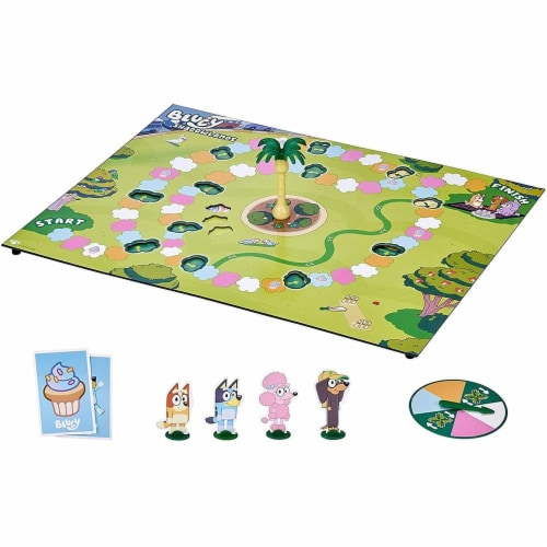Moose Bluey Shadowlands Family Board Game | For 2-4 Players Perspective: front
