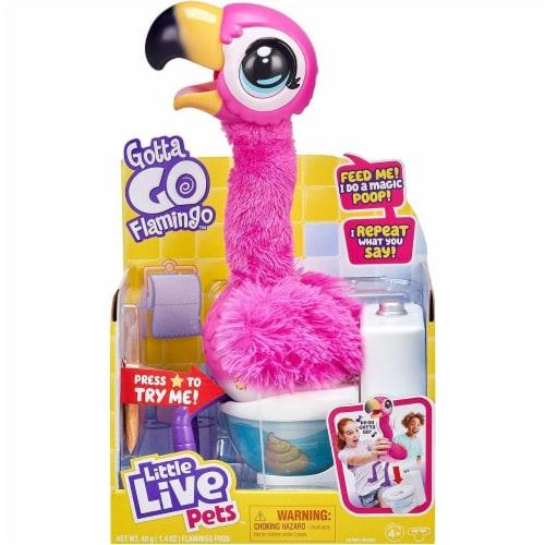 Little Live Pets Gotta Go Flamingo Toy Perspective: front