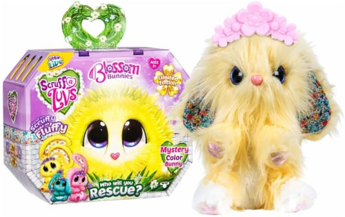 Little Live Pets Scruff-A-Luv Blossom Bunnies Mystery Color Bunny Perspective: front