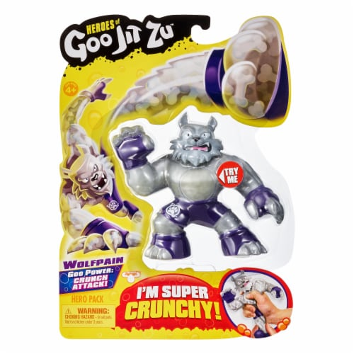 Moose Toys Goo Jit Zu Wolfpain Action Figure Hero Pack Perspective: front