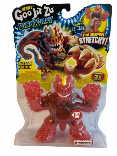Heroes of Goo Jit Zu™ DinoX-Ray Blazagon Action Figure Perspective: front