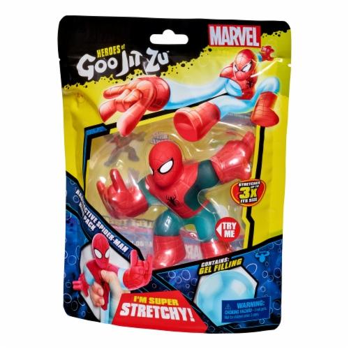 Heroes of Goo Jit Zu Spiderman Figure Perspective: front