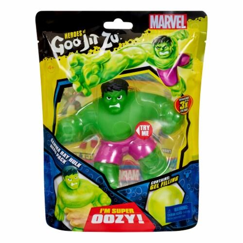 Heroes of Goo Jit Zu Hulk Figure Perspective: front
