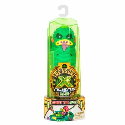 Treasure X Aliens Disect the Alien Toy Perspective: front