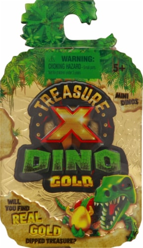 Treasure X Dino Gold Toy Perspective: front