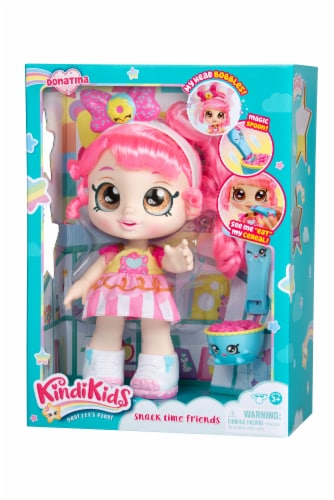 Kindi Kids Snack Time Friends Donatina Doll Perspective: front