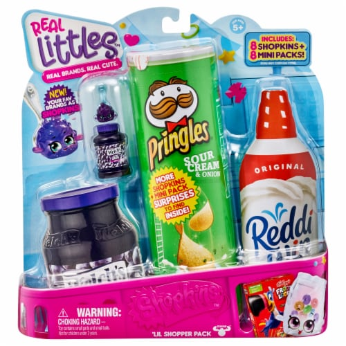 Shopkins Real Littles 'Lil Shopper Pack Perspective: front