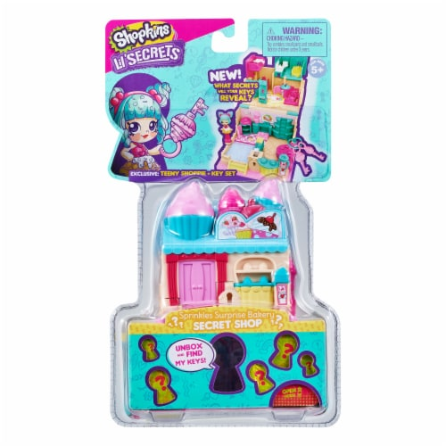 Shopkins Lil' Secrets Donut Shop Secret Lock Toy Perspective: front