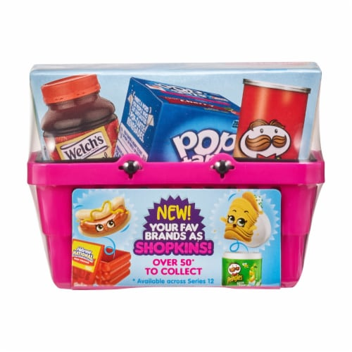 Shopkins Mini Food Samples Blind Box Perspective: front