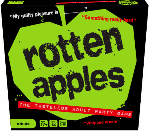 Moose Games Rotten Apples Board Game Perspective: front