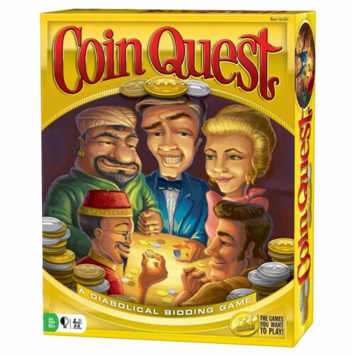 R&R Games RRG340 Coin Quest Game Perspective: front