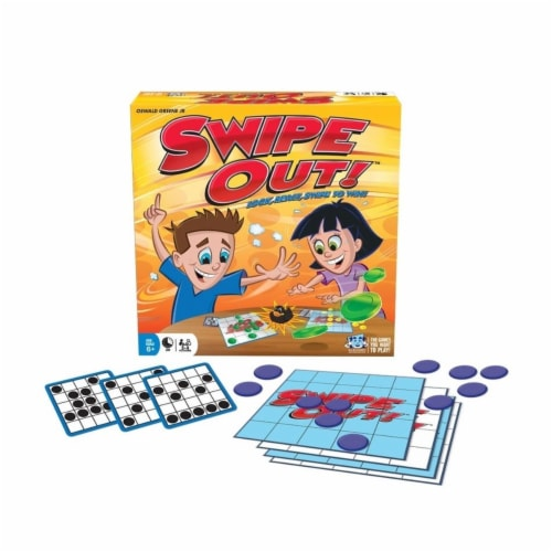 R & R Games 964 Swipe Out Board Game - Age 7 Plus Perspective: front