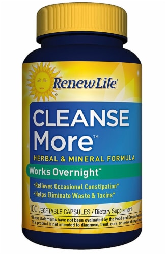 Renew Life  Cleanse More™ Constipation Relief Perspective: front