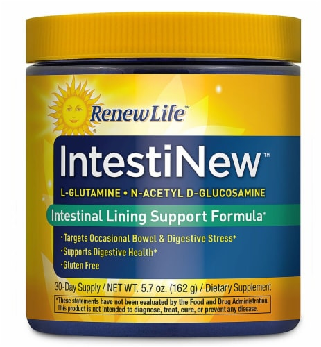 Renew Life  IntestiNew™ Digestive Health Supplement Perspective: front