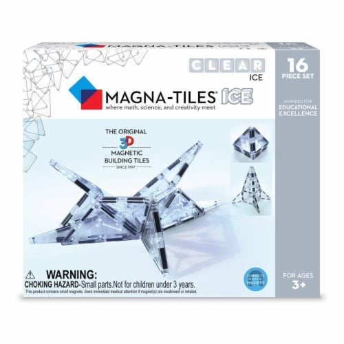 Valtech Company Magna-Tiles ICE Set - 16 Pcs Perspective: front