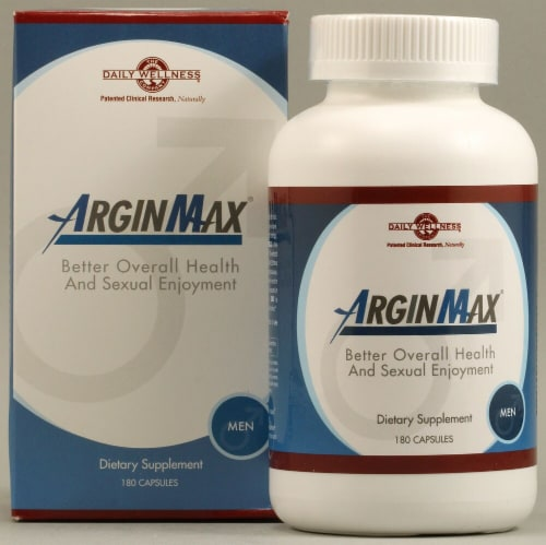 Daily Wellness Company  ArginMax For Men Perspective: front