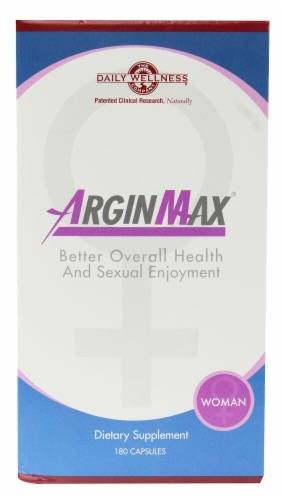Daily Wellness Company  ArginMax® For Women Perspective: front