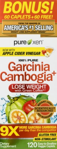 Purely Inspired Garcinia Cambogia Weight Loss Caplets Perspective: front