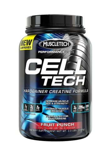 MuscleTech Cell-Tech Creatine Formula - Fruit Punch Perspective: front