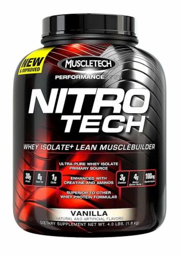MuscleTech  Nitro-Tech™ Performance Series   Vanilla Perspective: front