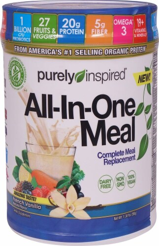 Purely Inspired All In One French Vanilla Replacement Meal Perspective: front