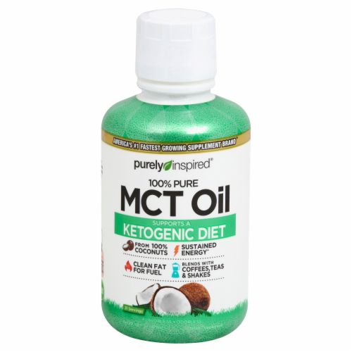 Purely Inspired MCT Oil Perspective: front