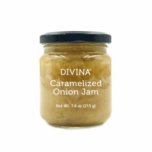 Divina Caramelized Onion Jam Perspective: front