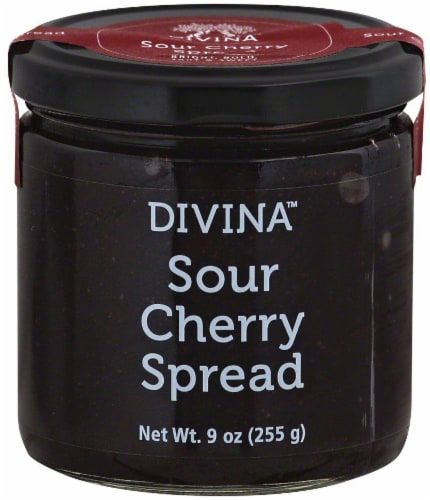 Divina Sour Cherry Spread Perspective: front