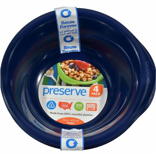 Preserve  Everyday Bowls Midnight Blue Perspective: front