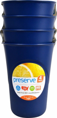 Preserve  Everyday Cups Midnight Blue 16 Oz Perspective: front