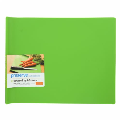 Preserve  Cutting Board Large Apple Green Perspective: front