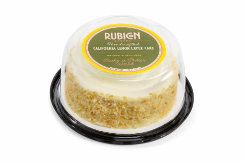 Rubicon Bakers California Lemon Layer Cake Perspective: front