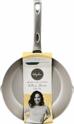 Ayesha Curry Porcelain Nonstick Chef Pan - Twilight Teal Perspective: front