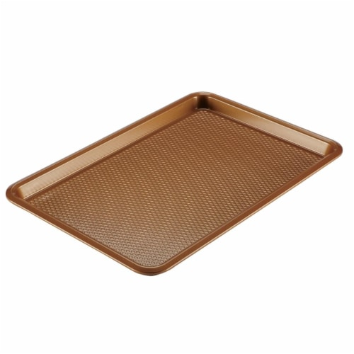 Ayesha Curry Nonstick Cookie Pan, 11 x 17 in. - Copper Perspective: front