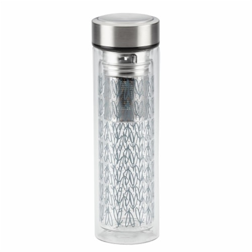 Ayesha Curry 47517 Portable Infusing Beverage Bottle, 14 oz - Copper Perspective: front