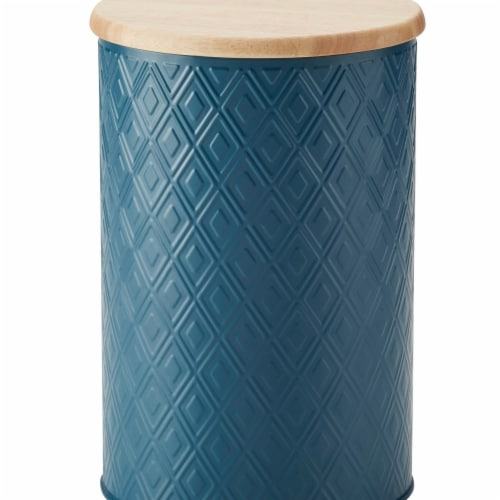 Ayesha Curry 47532 Large Storage Canister, 16 Piece - Twilight Teal Perspective: front