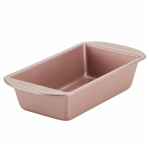 Farberware 9 x 5 in. Nonstick Bakeware Loaf Pan - Rose Gold Perspective: front