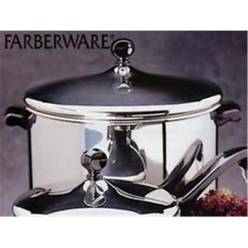 Farberware Classic Series 8 Quart Covered Stockpot Perspective: front
