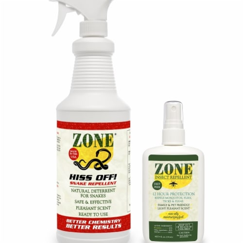 Zone Repellents 101-04B1 Insect Repellent Spray - Pack of 3 Perspective: front