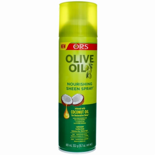 ORS Olive Oil Nourishing Sheen Spray Perspective: front