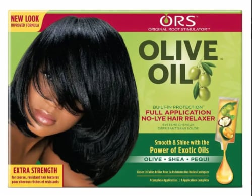 ORS Olive Oil Extra Strength Relaxer Perspective: front