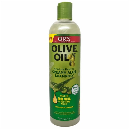 ORS Olive Oil Creamy Aloe Shampoo Perspective: front