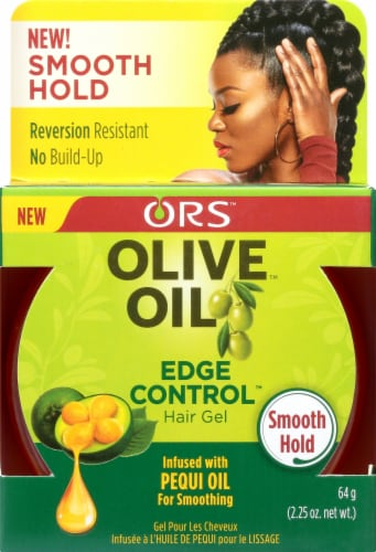ORS Olive Oil Edge Control Hair Gel Perspective: front