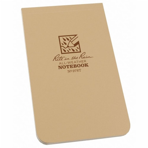 Rite in the Rain All Weather Notebook,Nonwirebound  978T Perspective: front
