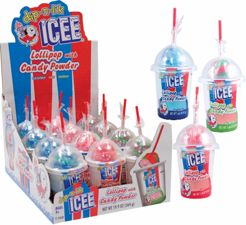 ICEE Dip-n-Lik Candy Perspective: front