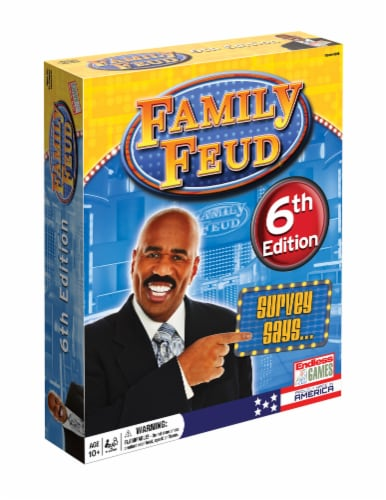 Endless Games Family Feud Game - 6th Edition Perspective: front