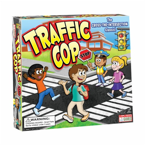 Endless Games Traffic Cop Board Game Perspective: front