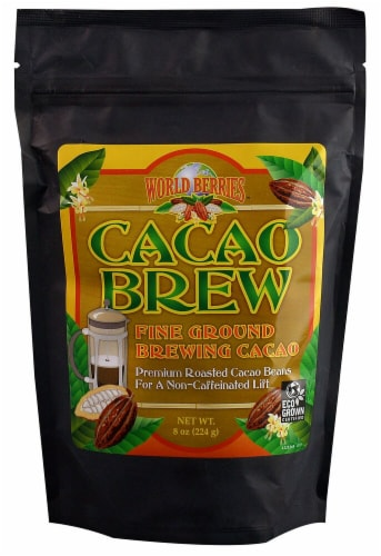 FunFresh Foods  World Berries™ Cacao Brew Fine Ground Perspective: front