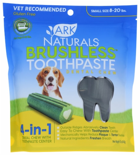 Ark Naturals Brushless Toothpaste Chewable Perspective: front