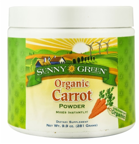 Sunny Green  Organic Carrot Powder Perspective: front